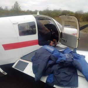2. Preparing the Plane